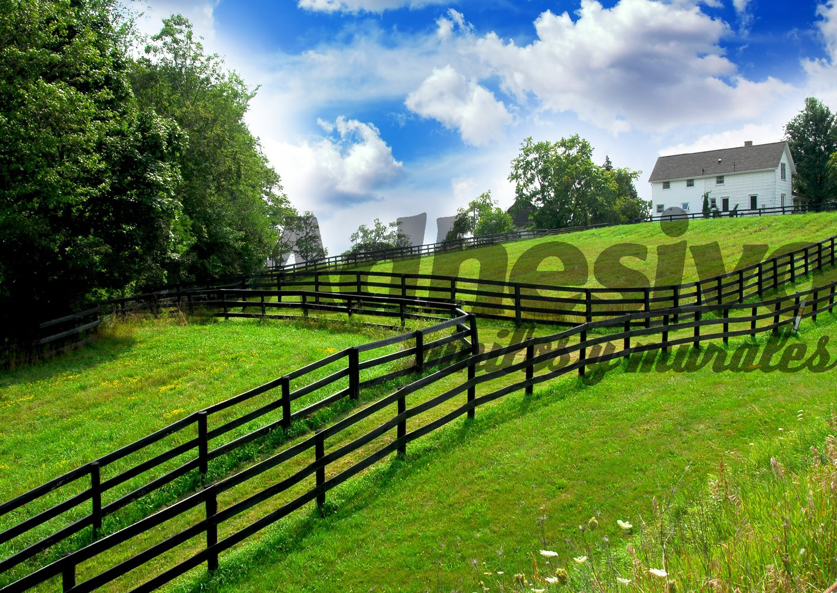 Fototapeten: Der Bauernhof