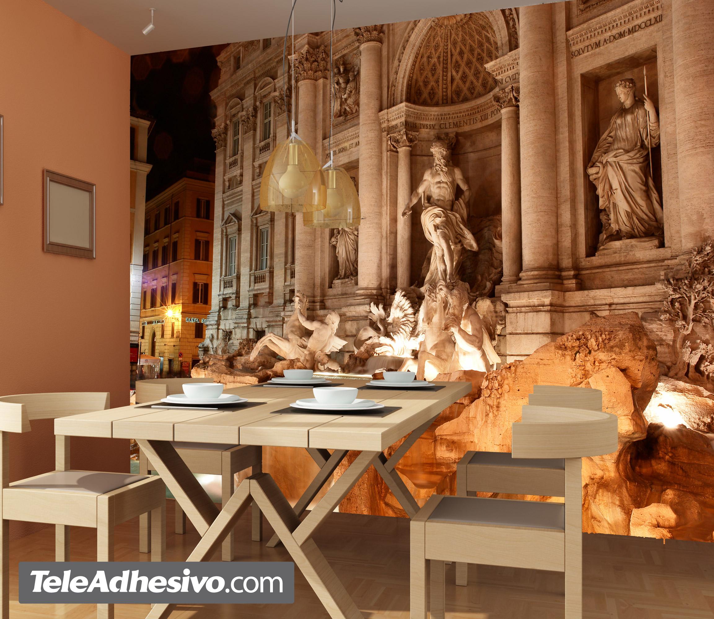 Fototapeten: Fontana di Trevi