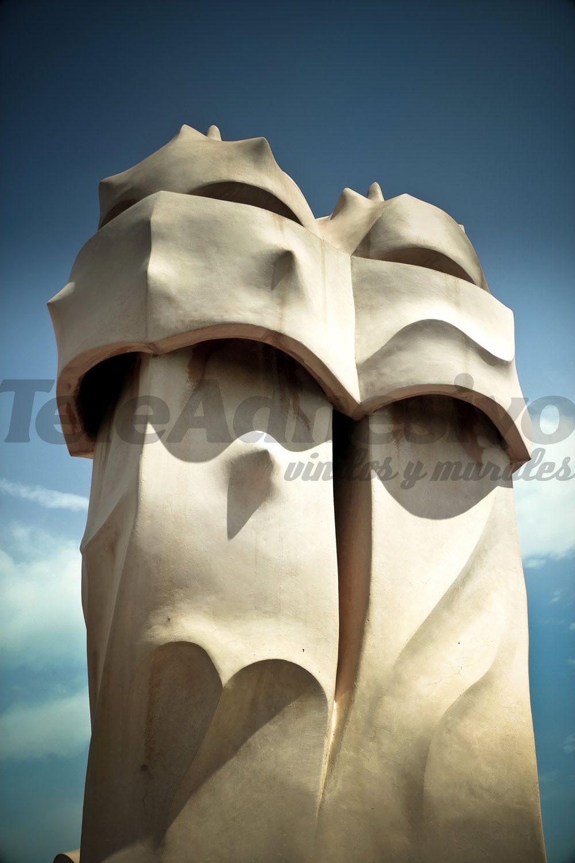 Fototapeten: Schornsteine der Casa Mila