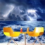 Fototapeten: Sturm auf dem Meer 3