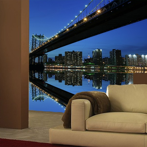 brooklyn bridge. Black Bedroom Furniture Sets. Home Design Ideas
