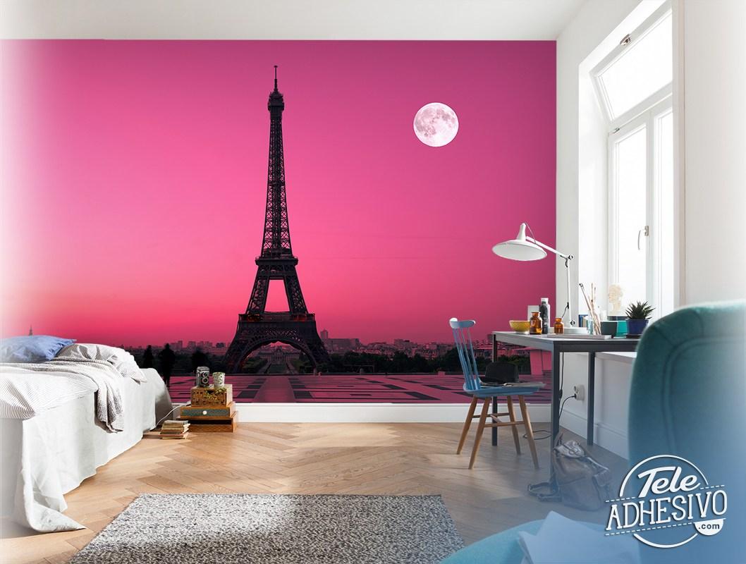 Fototapeten: Eiffel tower from Trocadero