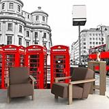 Fototapeten: London in Red 1