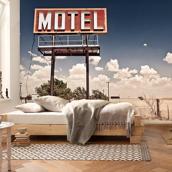 Fototapeten: Motel on Route 66