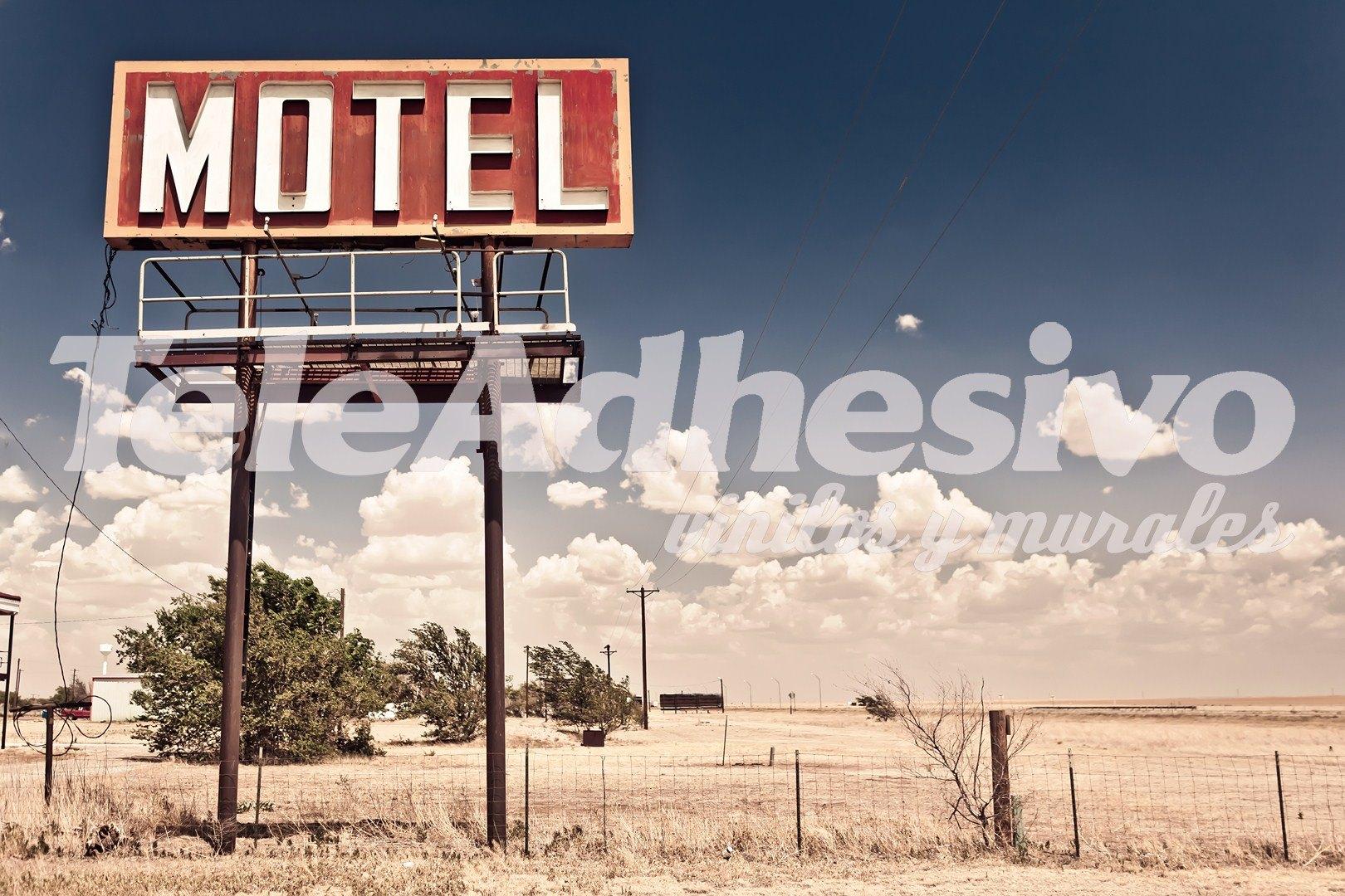 Fototapeten: Motel on Route 66