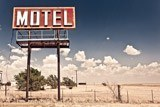 Fototapeten: Motel on Route 66 3