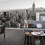 Fototapeten: Aerial view of New York 3