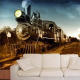 Fototapeten: Vintage Locomotive 2