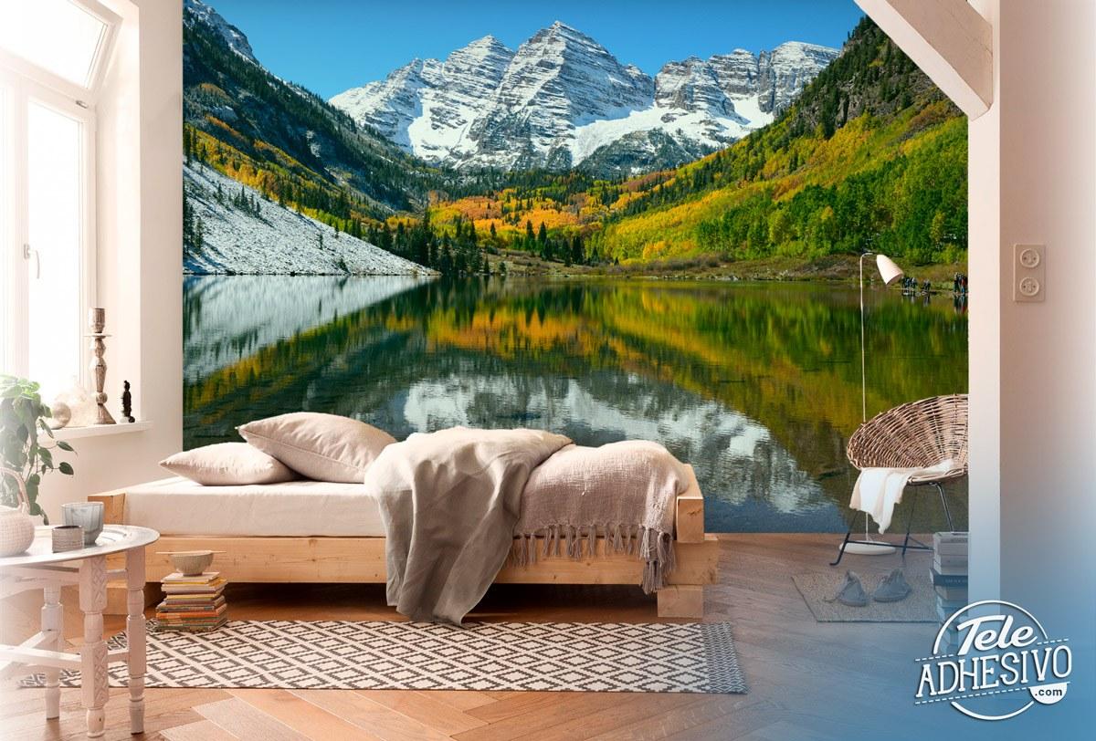 Fototapeten: Maroom Lake