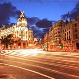 Fototapeten: Gran Vía Madrid 3