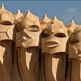 Fototapeten: Chimeneas Gaudi 3