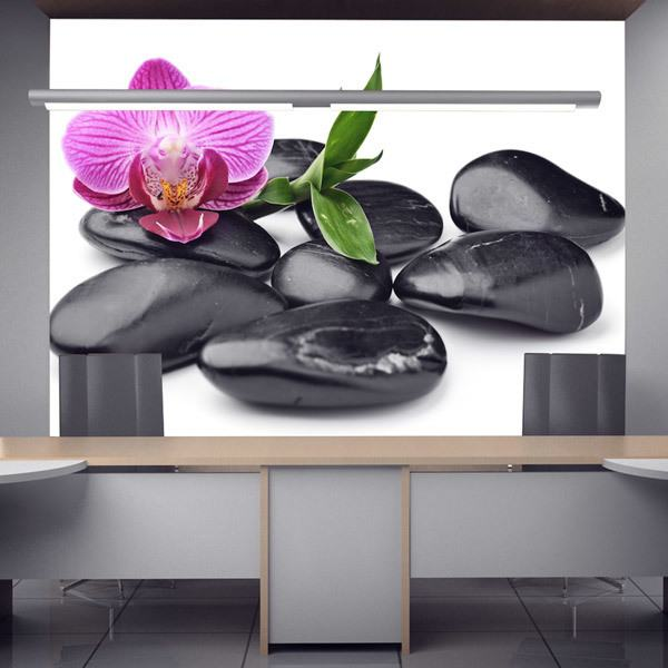 blumen fototapeten. Black Bedroom Furniture Sets. Home Design Ideas