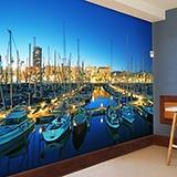 Fototapeten: Puerto Barcelona 2