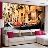Fototapeten: Venedig Gondel 2