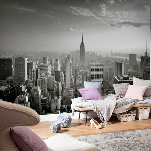new york empire state building. Black Bedroom Furniture Sets. Home Design Ideas