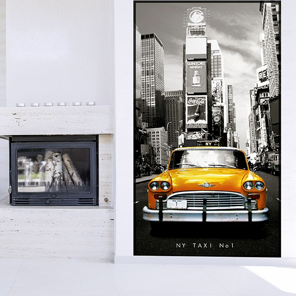 Fototapeten: New York Taxi