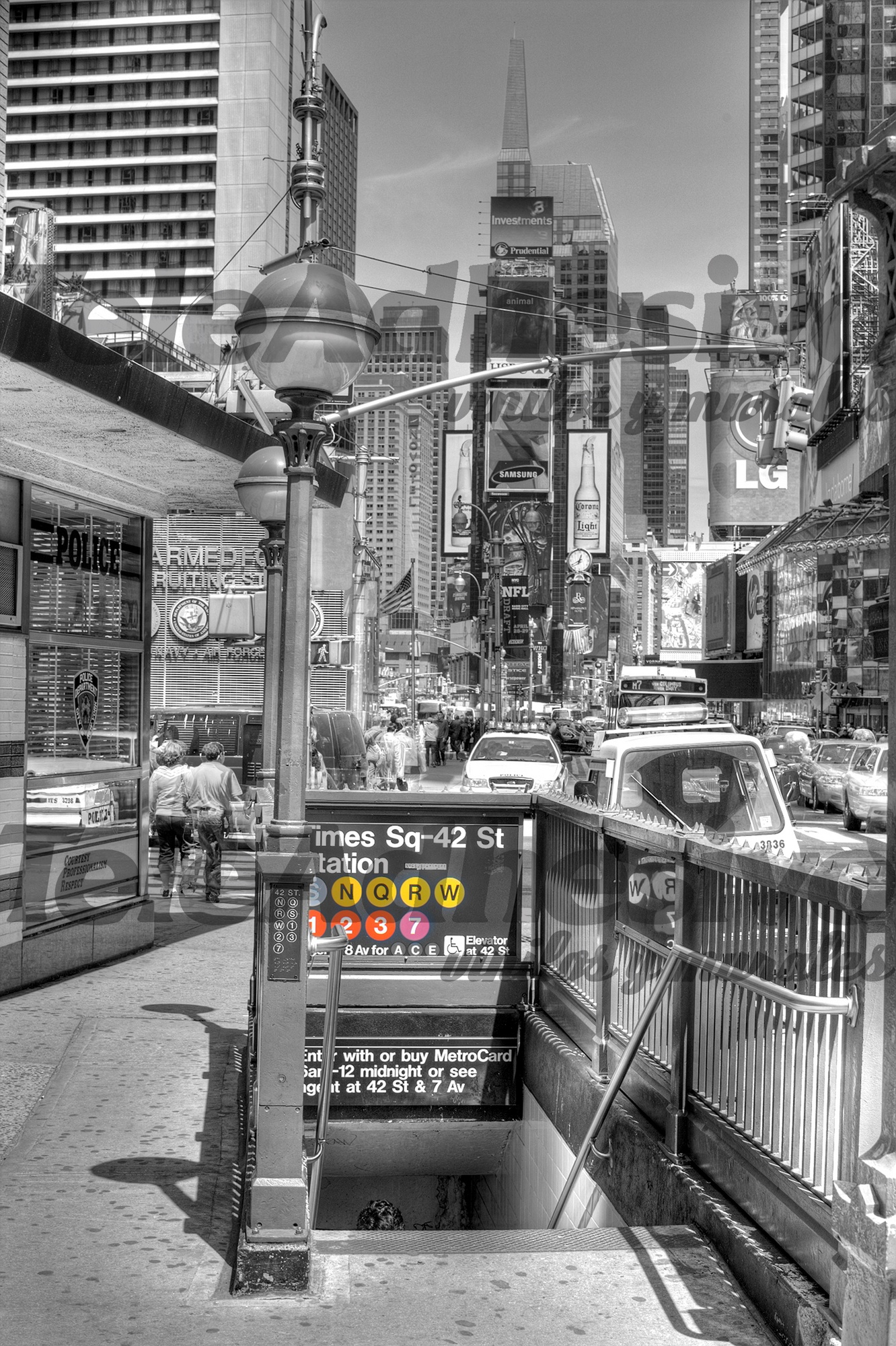 Fototapeten: Times square undreground