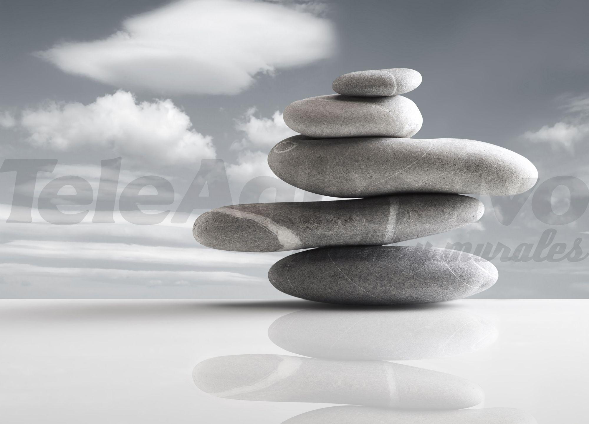 Fototapeten: Steine auf dem Horizont