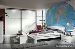 Fototapeten: Weltkarte 1