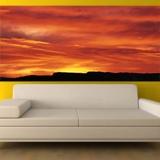 Fototapeten: Rötlich Sonnenuntergang 2