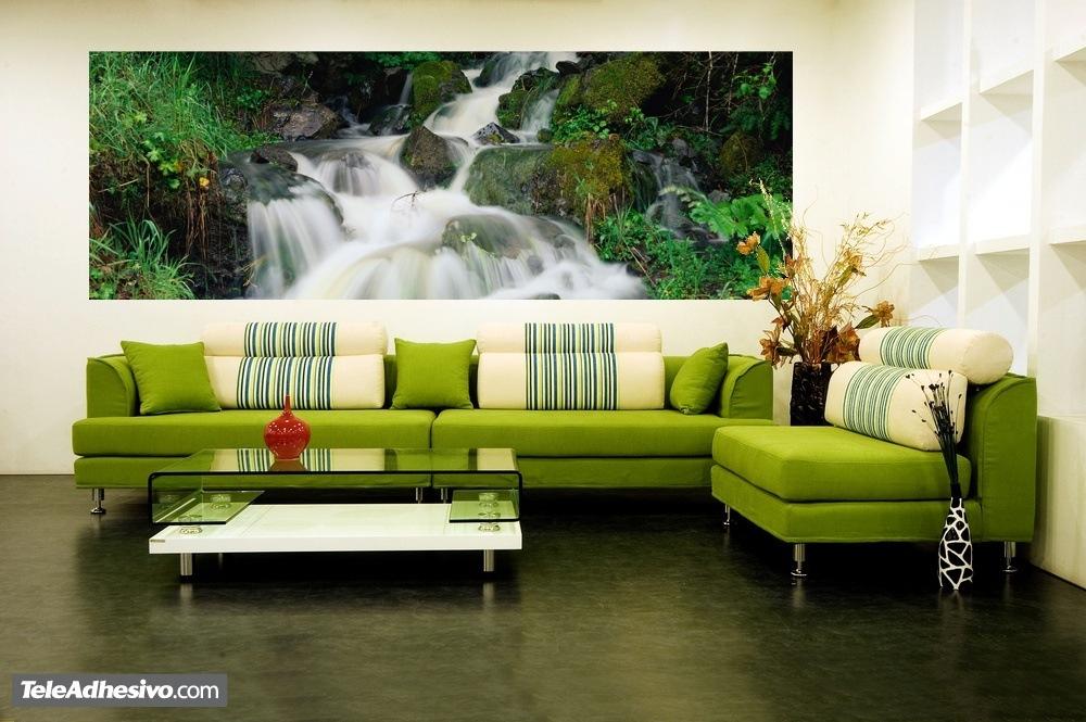 Fototapeten: Wasserfall