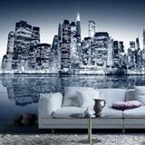 Fototapeten: Blue Night Manhattan 0
