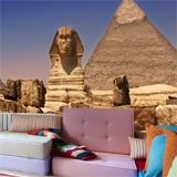 Fototapeten: Sphinx und Pyramiden 3