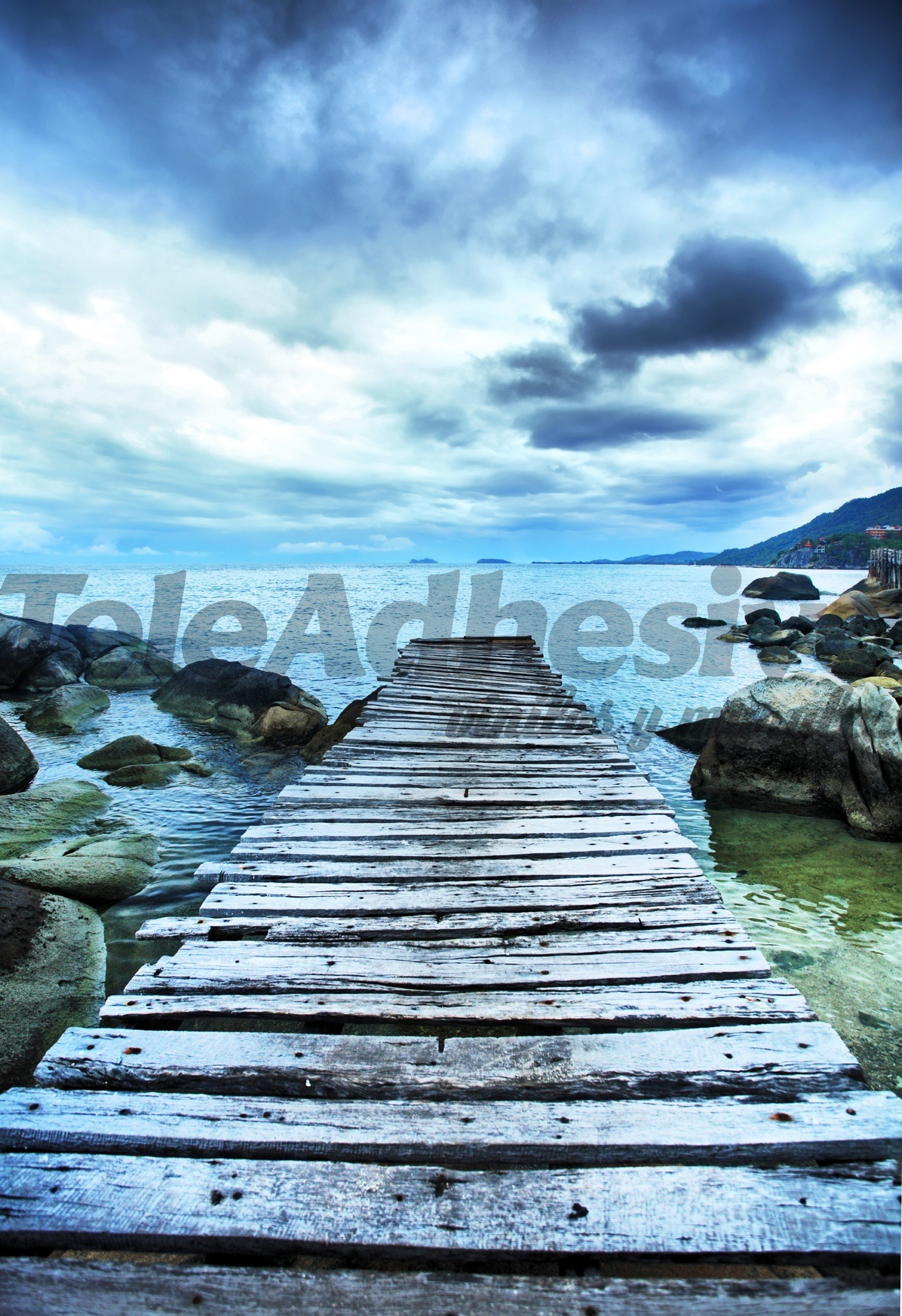 Fototapeten: Gateway zwischen den Felsen