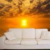Fototapeten: Sonnenuntergang über dem Meer 3