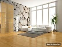 Fototapeten: Weiße Steine 2