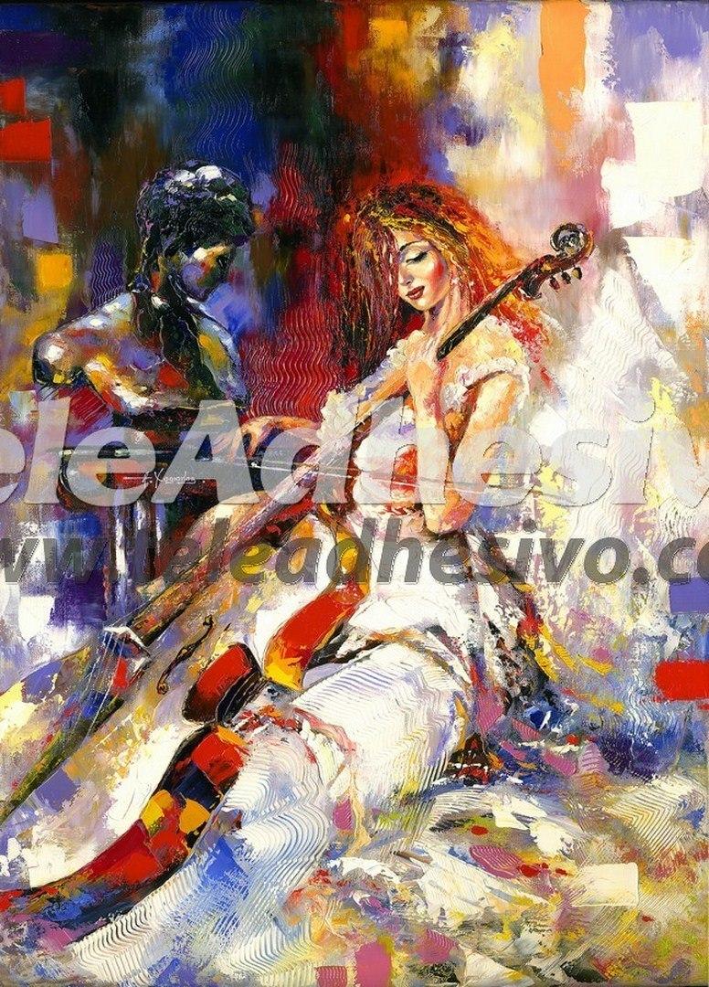 Fototapeten: Cellist