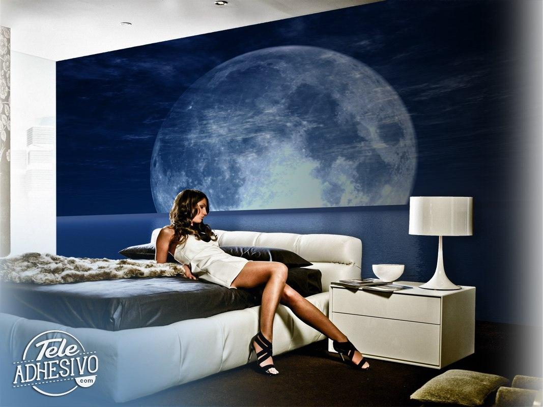 Fototapeten: Mond und Meer