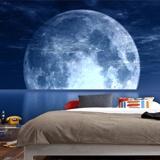 Fototapeten: Mond und Meer 3