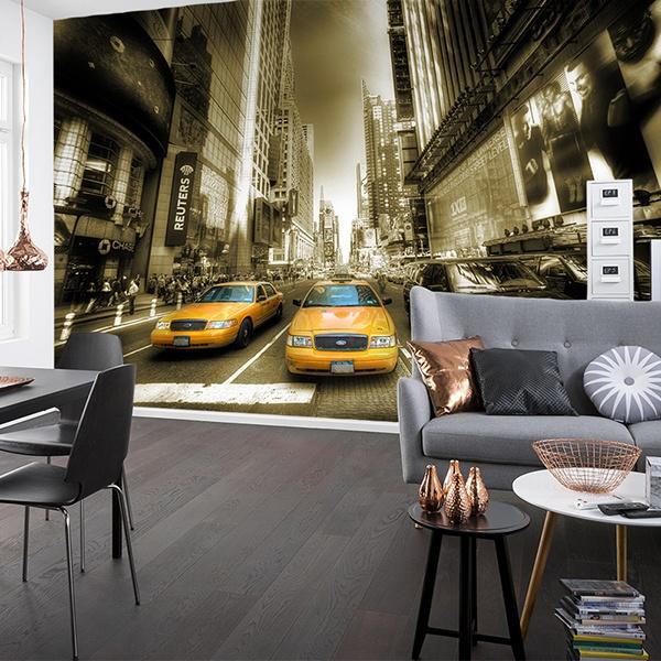 fototapeten von new york. Black Bedroom Furniture Sets. Home Design Ideas