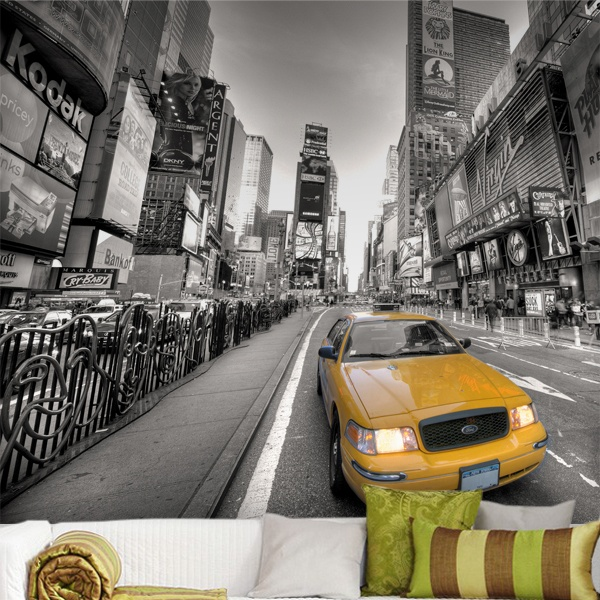 Fototapeten: Taxi in New York