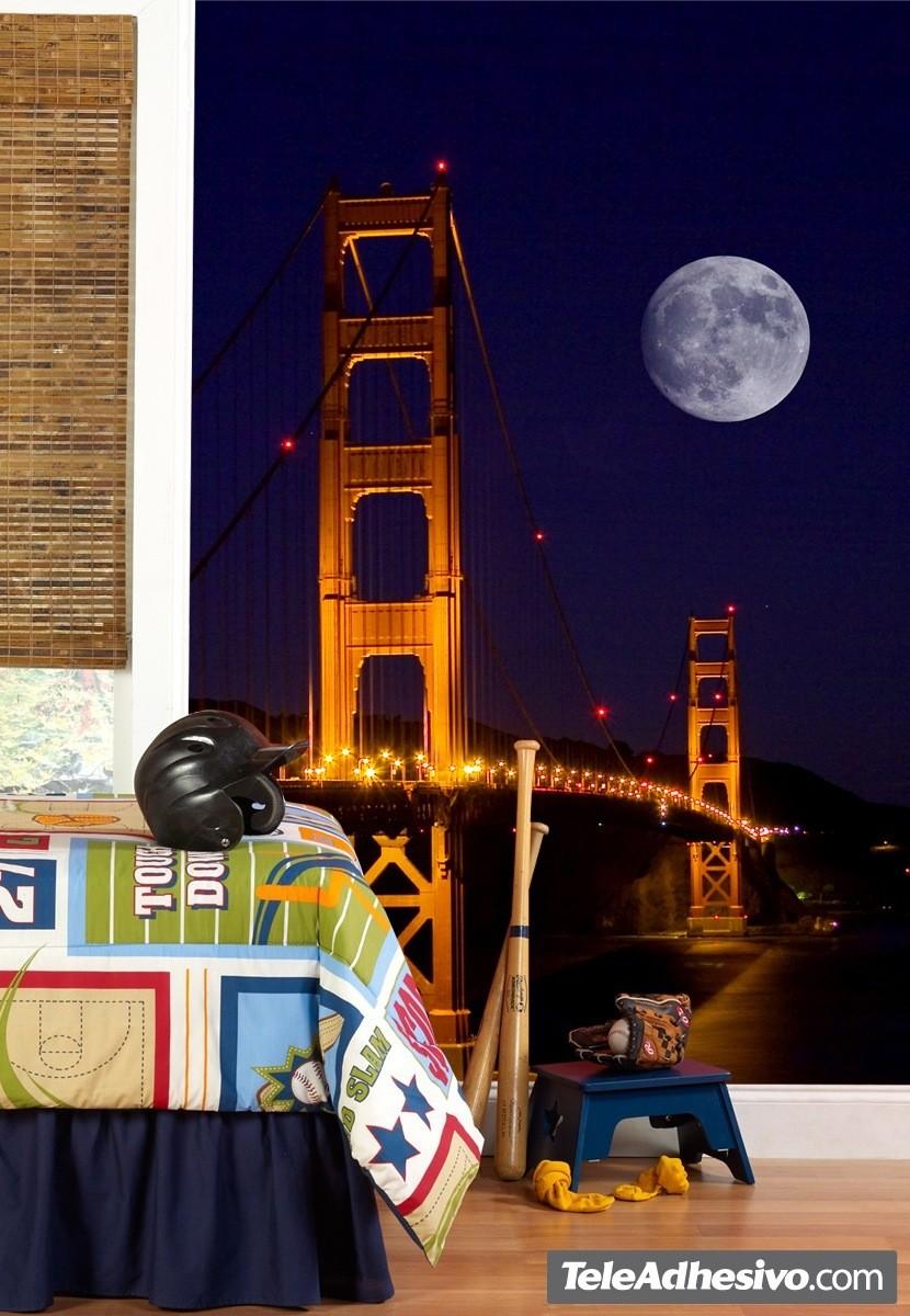 Fototapeten: Golden Gate