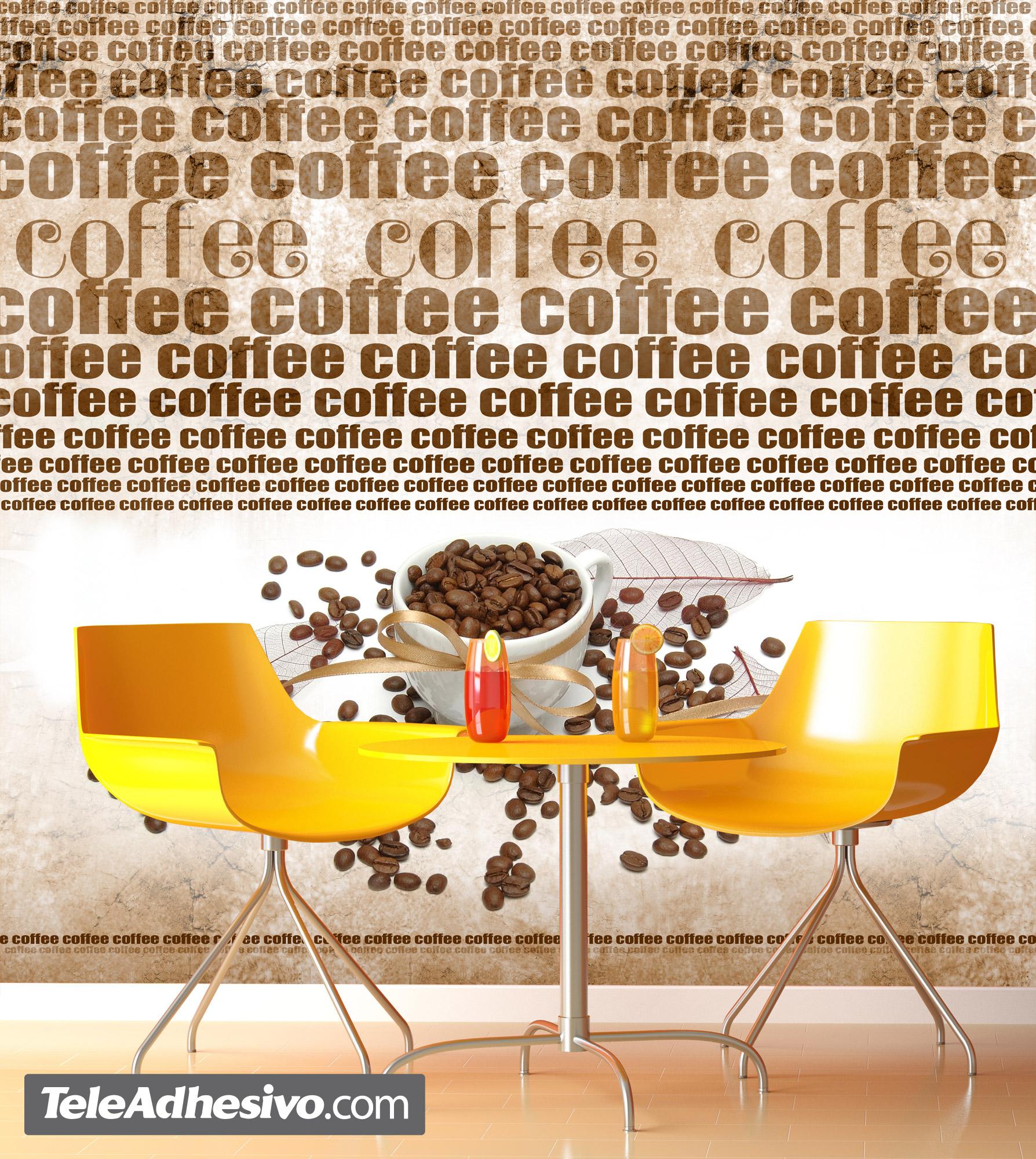 Fototapeten: café