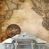 Fototapeten: Kompass 2