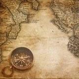 Fototapeten: Kompass 3
