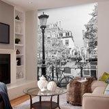 Fototapeten: Rad-und Laternenpfahl 2