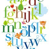 Fototapeten: Tier-Alphabet 3