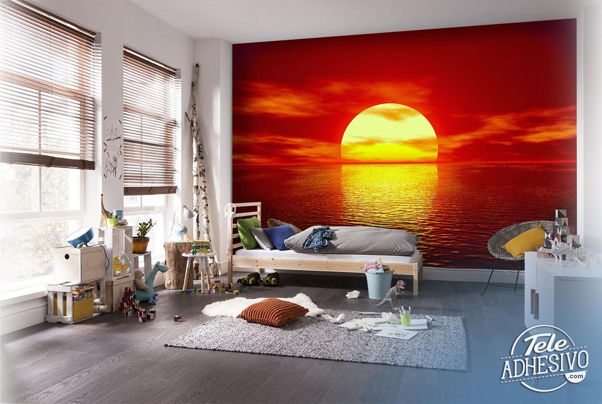 Fototapeten: Sonnenuntergang