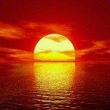 Fototapeten: Sonnenuntergang 3