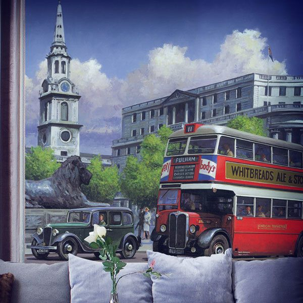 Fototapeten: London-Bus