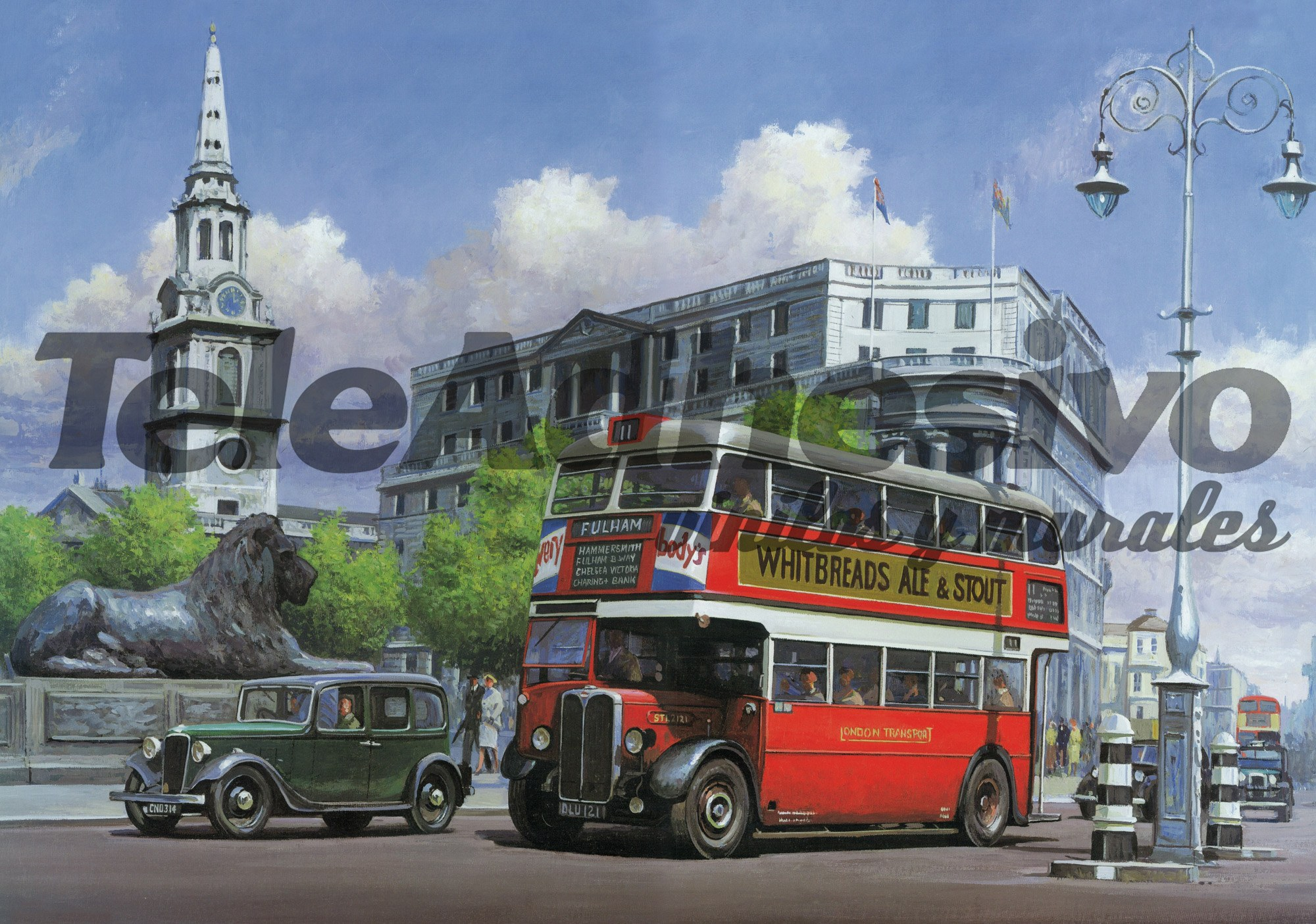 Fototapeten: London Bus