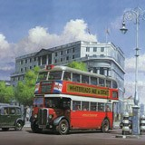 Fototapeten: London Bus 2
