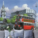 Fototapeten: London Bus 3