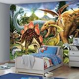 Fototapeten: Dinosaurier  2