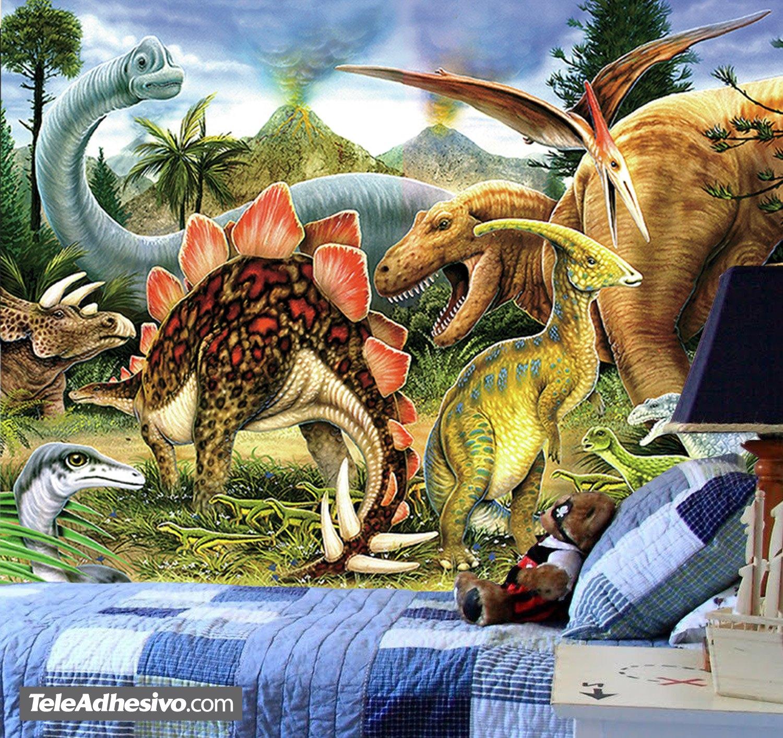 Fototapeten: Dinosaurier