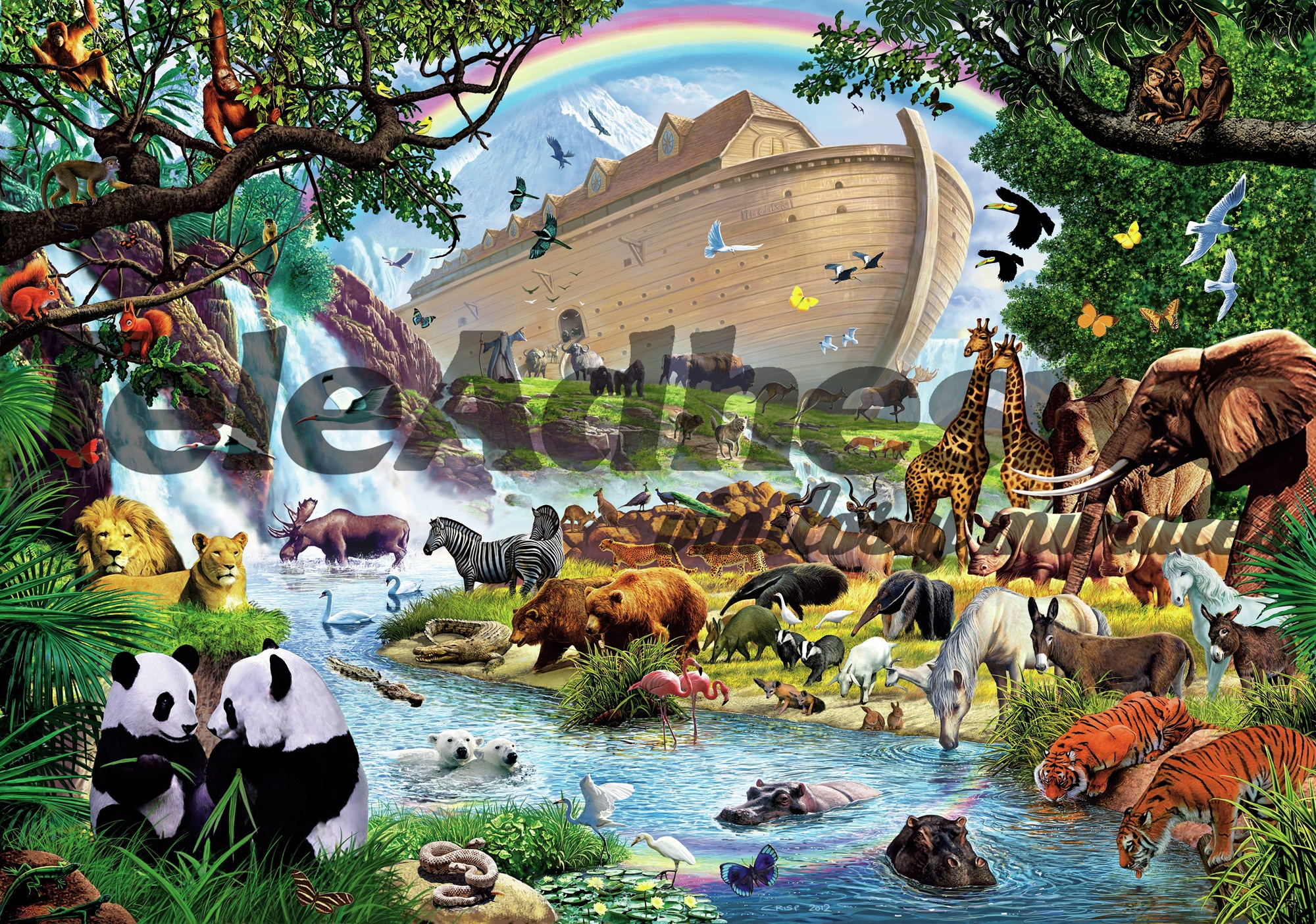 Fototapeten: Die Arche Noah